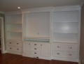 Let American Woodline design and build your entertainment wall unit